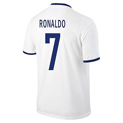 Ronaldo #7 Portugal Away Soccer Jersey YOUTH. (YXL) (Portugal Away Shirt)