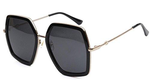 Fashion Sunglasses MSNHMU Travel Shopping De Sol Black Lady Gafas Beach 5EEBqpnr