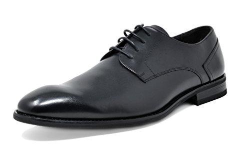 New York Dress Oxford (Bruno Marc Men's Washington-1 Black Genuine Leather Dress Oxfords Shoes - 8 M US)