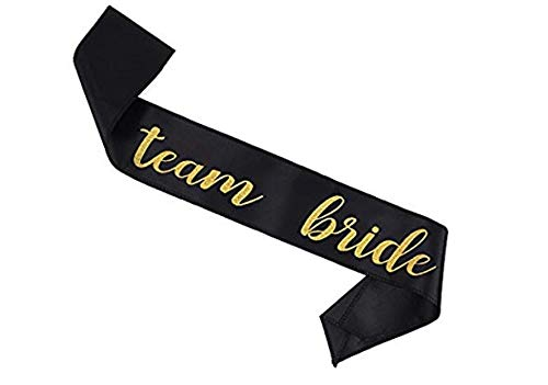 12 Pack Bachelorette Party sash Set/Bride to be sash/Bridesmaid sash, Team Bride or Bride Tribe sash as Bridal Shower Decorations, Bachelorette Party Favors or Supplies, Maid of Honor Gifts. by Gemich (Image #5)