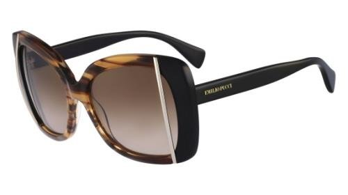 pucci-sun-womens-ep741s-265-striped-brown-butterfly-56mm-sunglasses