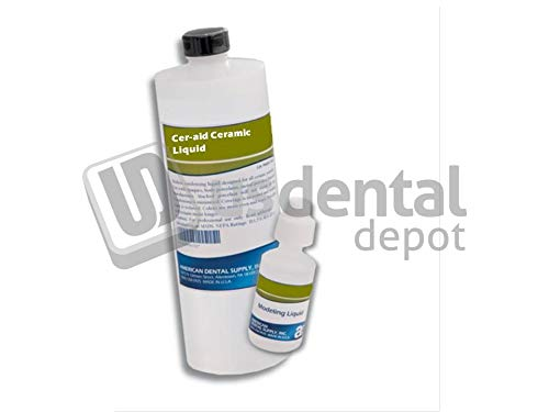 ADS- Lab-Cer-Aid ceramic liquid 4 oz. - # 411125 modeling liquid 118117 Us Dental Depot