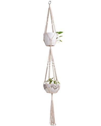 Mkono Macrame Outdoor Hanging Planter product image