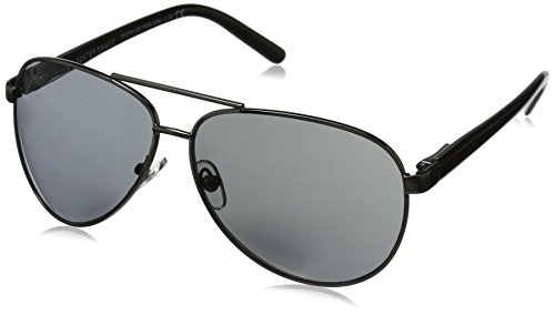Foster Grant Men's Command 1017553-250.COM Aviator Reading Glasses, Gunmetal, 2.5 (Sun-glasses.com)