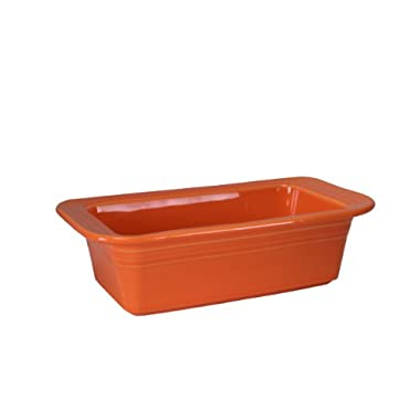 Fiesta 813-325 Loaf Pan, 5-3/4-Inch by 10-3/4-Inch, Tangerine