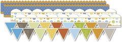 (Deja Views - C-Thru - Little Yellow Bicycle - BabySaurus Collection - Canvas Stickers - Borders)