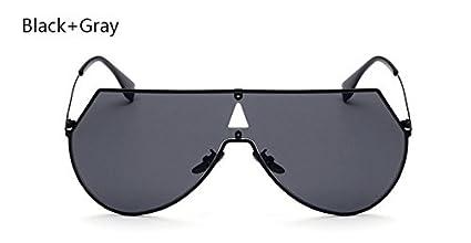 ddc94837228 BranXin(TM) Ladies Oversized Pilot Sunglasses Women Vintage Fashion Brand  Designer Sun Glasses Men