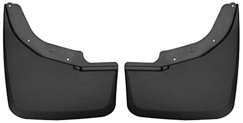 Husky Liners Dually Rear Mud Guards Fits 15-18 Silverado/Sierrra 3500 DUALLY
