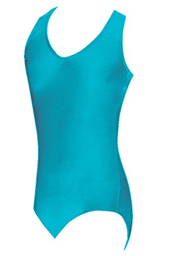 DanceNwear Adults Tank Top Nylon/Lycra Leotard - many colors - S to XL