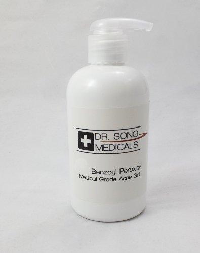 10% de peroxyde de benzoyle acné crème jusqu'à 8