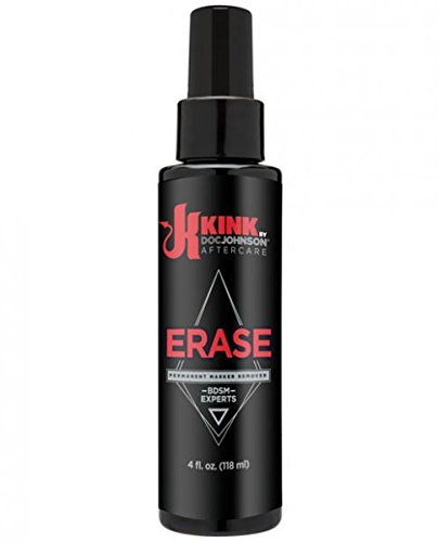 Doc Johnson Kink Erase Permanent Marker Remover, 4 Fluid Ounce (Remove Permanent Marker)