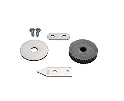 Commercial Opener - Replacement Parts - Knife/Blade & Gear Compatible With Edlund #1 Commercial Can Opener
