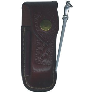 Pouch, Zermatt Large Leather with (Knife Swiss Pouch Leather Army)