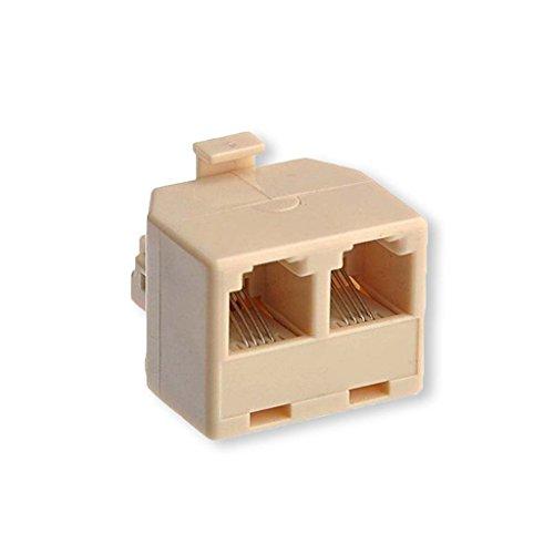 Two 6p4c Plug - 8