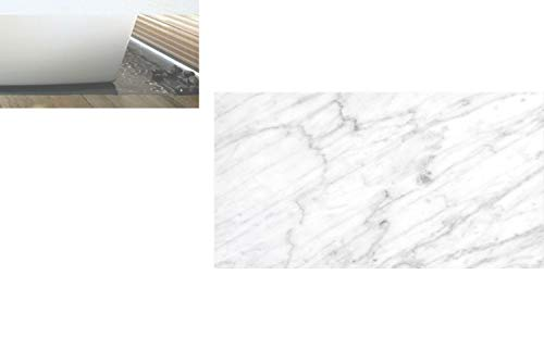 Decorative Privacy Window Film/Carrara Marble Tile Surface Organic Sculpture Style Granite Model Modern Design/No-Glue Self Static Cling for Home Bedroom Bathroom Kitchen Office Decor Dust Grey White