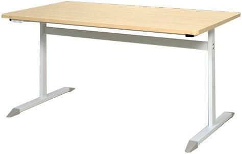 RFCTB-1480NA-NC T字脚コンセント付きテーブル W1400×D800 ナチュラル