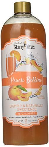 (Peach Bellini - Jordan's Skinny Mixes for Cocktails, 1 Liter (Peach Bellini, 1 Liter) )