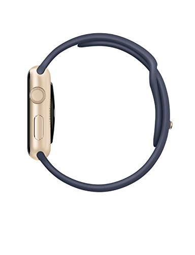 Apple 42mm Smart Watch - Aluminum Case/Midnight Blue Sport Band