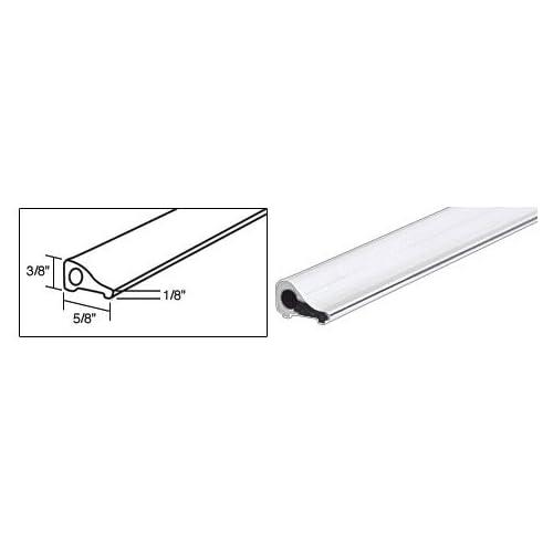 CRL White Frameless Shower Door Tapered Threshold - 32 in long good