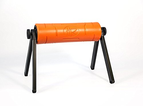 HighRoller 2.0 Patented Foam Roller (Orange) by HighRoller Finland