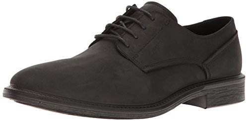 ECCO Men's Knoxville Plain Toe Gore-Tex Oxford, Black, 41 EU/7-7.5 M US ()