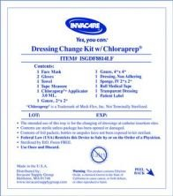 Case Of 30 Central Line Dressing Change Kit with Chloraprep by Invacare