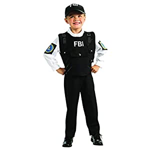 Young Heroes FBI Agent Costume, Large
