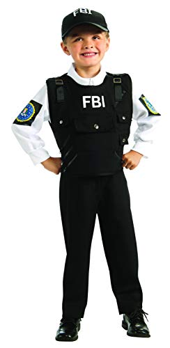 Young Heroes FBI Agent Costume, Medium -