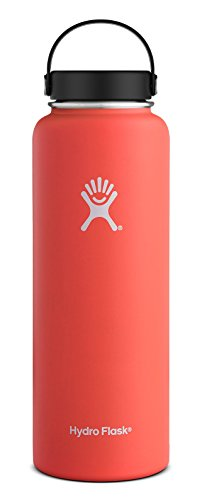Hydro Flask Vacuum Insulated Stainless Steel Water Bottle, Wide Mouth w/Flex Cap