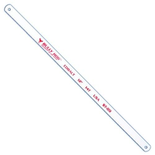 Stone Tools ST-89 12-Inch 14 TPI Bi-Metal Hacksaw Blades, 10 Pack