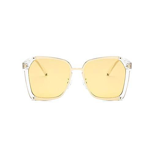 del de cuadrado gafas sol Las gafas NIFG transparentes grandes marco de forman sol AFqZFxv1