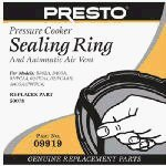 Presto 09907 Pressure Canner Sealing Ring/Automatic Air Vent Pack
