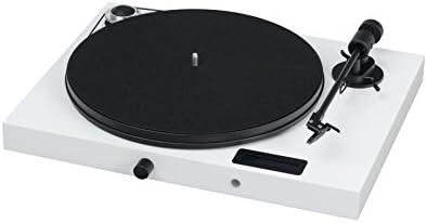 Amazon.com: Pro-Ject All-in-One Turntable Piano) Blanco/alto ...