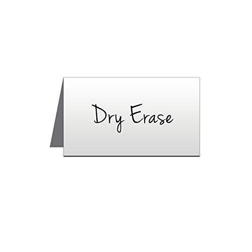 5 x 3 Write-on Metal Place Cards - Pack of 5