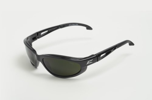 Edge Eyewear SW11-IR5 Dakura Safety Glasses, Black with Light Welding IR 5.0 - Sunglasses Welding
