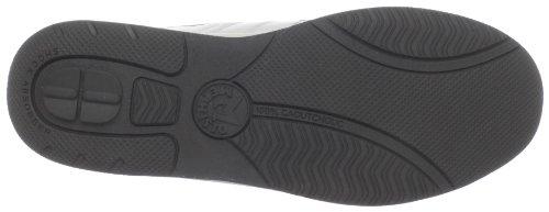 White Women's Mephisto Laser Perforated Sneaker IXOxdwnpz