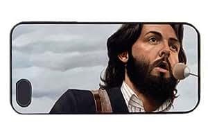 Beatles Paul McCartney Hard Plastic Protective Case For Iphone 5 5S (WCA Custom Designed)