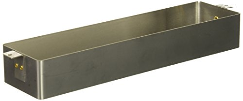 (Baldwin 0052.324 Package Size Letter Box Sleeve, Satin Stainless Steel )