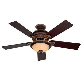 Factory reconditioned hunter hr20720 52 aged umber ceiling fan with factory reconditioned hunter hr20720 52quot aged umber ceiling fan with light aloadofball Images