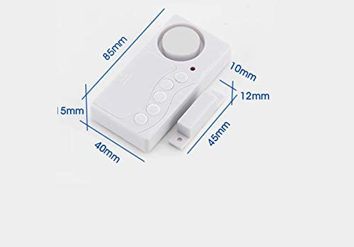 con sensores para Puertas y Ventanas inal/ámbricos ECTECH Juego de 5/Sistemas de Seguridad para el hogar y una Alarma con un Nivel ac/ústico de 105/dB