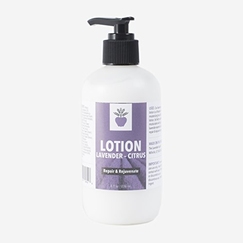 All Natural Lavender and Lemon Hand and Body Lotion with Shea Butter for Women - The Lavender Apple