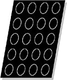 Flexipan Oval 3.38 Oz, 85mm x 60mm x 30mm Deep (3-3/8