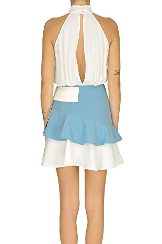 Mcglvs0000005011e Vestido Blanco Elisabetta Franchi Mujer Poliéster grxErX