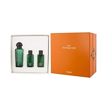 Hermes Gift Set Hermes D'orange Vert By Hermes
