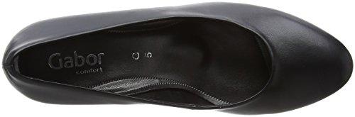 Gabor Ladies Comfort Basic Pumps Black (nero)