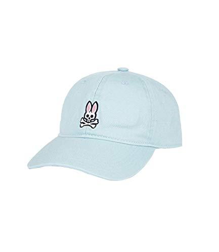 Psycho Bunny Mens Classic Stonewash Baseball Cap in Baby Blue (Bosphorus)