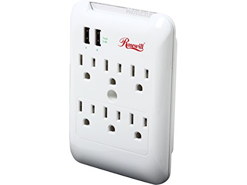 Rosewill Outlet Power Charging RHSP 14001