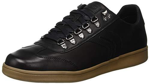 Geox Herren U Warrens Chaussure De B, Schwarz (en Noir C9999)
