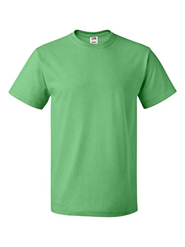 Fruit of the Loom Heavyweight Short Sleeve T-Shirt, Kelly, (Fruit Of The Loom Heavyweight T-shirt)
