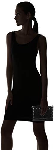 b nero 0x0 Small Femme T X 0 5x22 H Armani 15 Noir Cm Pochettes Exchange Pouch Y7qSCwxT4